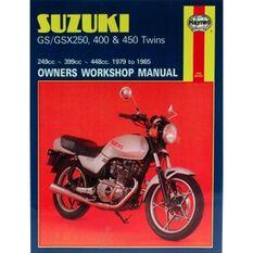 SUZUKI GS/GSX250, 400 & 450 TWINS 1979 -, , scanz_hi-res