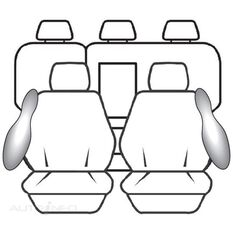 TOYOTA RAV4 WAGON GX / GXL / CRUISER (02/2013 - ON) DEPLOY SAFE (BLACK)