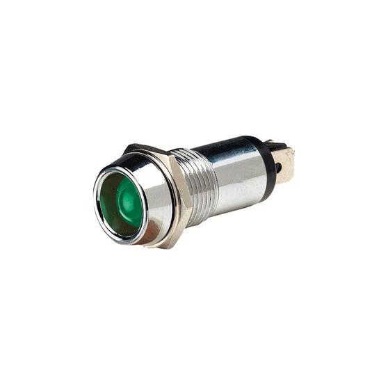 PILOT LAMP 12V LED GREEN, , scanz_hi-res