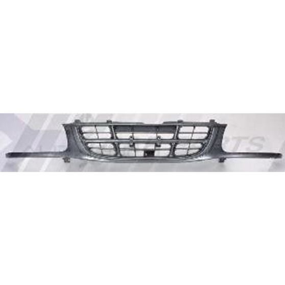 GRILLE - SILVER GREY FLUSH/HEAD LAMP TYPE