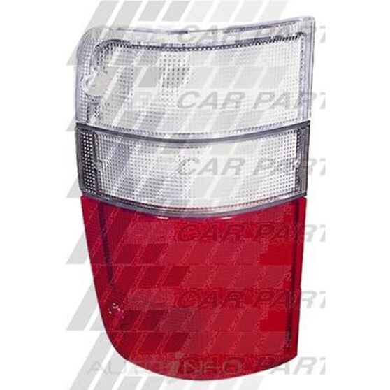 REAR LAMP - L/H - RED & WHITE