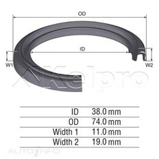 OIL SEAL-DIFFERENTIAL, , scanz_hi-res