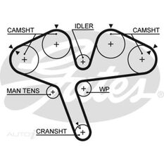 CAMBELT MITSI FTO/GALANT1.8/2.0DOHC 6A12, , scanz_hi-res