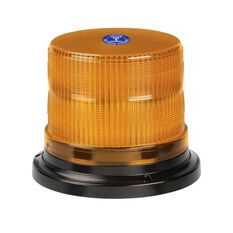 STROBE LED P/TOUCH FLGE AMBER, , scanz_hi-res