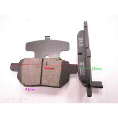 D1354-8463=FMSI for Royale Brake Set  R Toyota Corolla 06-, , scanz_hi-res