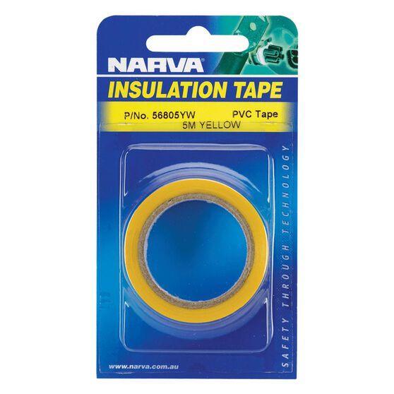 TAPE PVC INSUL MATT YELLOW