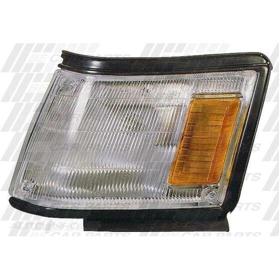 CORNER LAMP - L/H - LARGE - BLACK, , scanz_hi-res