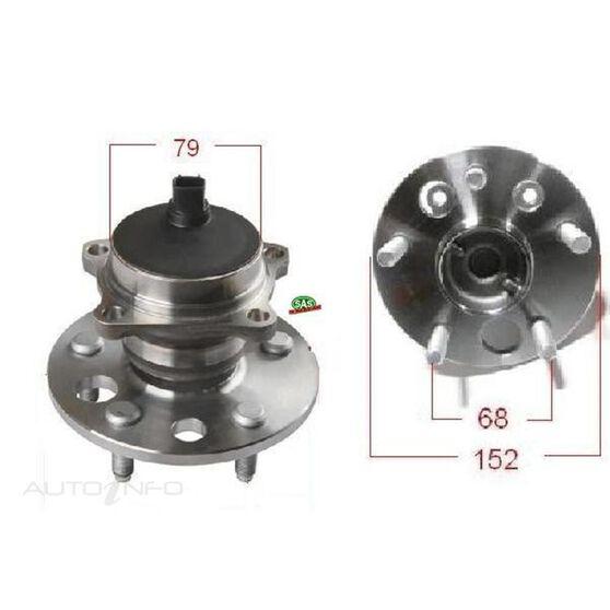 Toyota Ipsum 96-01 Rear wheel hub, , scanz_hi-res