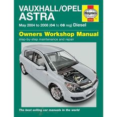 VAUXHALL/OPEL ASTRA DIESEL (MAY 2004 - 2008)