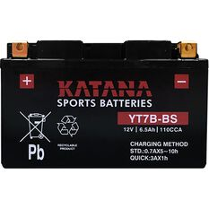 YT7B-BS Katana Motorcycle Battery, , scanz_hi-res