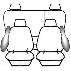 NISSAN NAVARA D40 DUAL CAB - ST-X (10/2007 - ON) DEPLOY SAFE (CHAR)