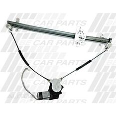 WINDOW REGULATOR - L/H - ELECTRIC - W/MOTOR, , scanz_hi-res