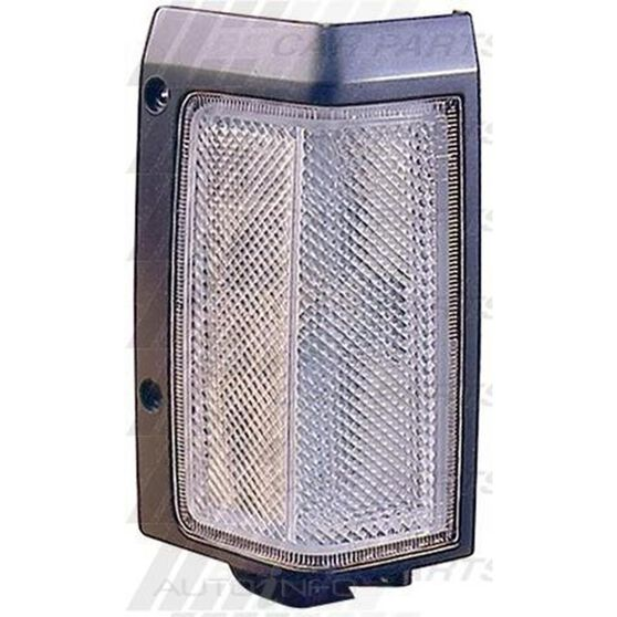 CORNER LAMP - R/H  CLR/BLK - NARROW