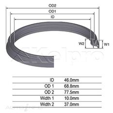 OIL SEAL KELPRO, , scanz_hi-res