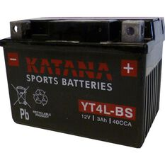 YT4L-BS Katana Motorcycle Battery