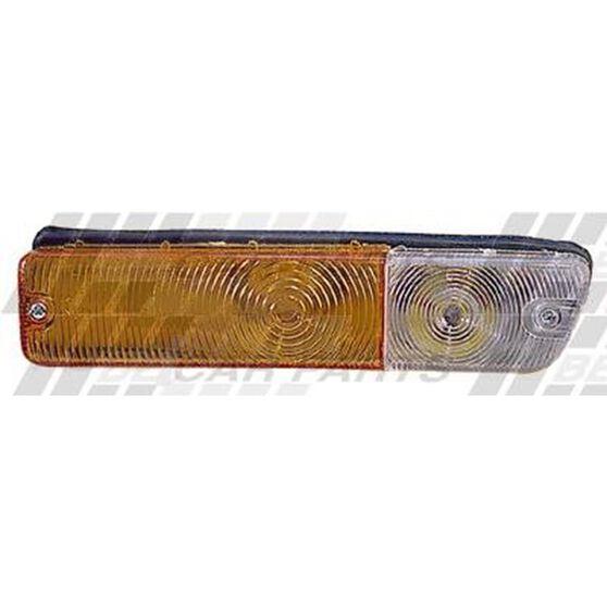 BUMPER LAMP - L/H - AMBER/CLEAR