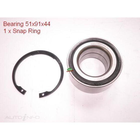 Honda Odyssey 05-10 Front wheel bearing kit, , scanz_hi-res