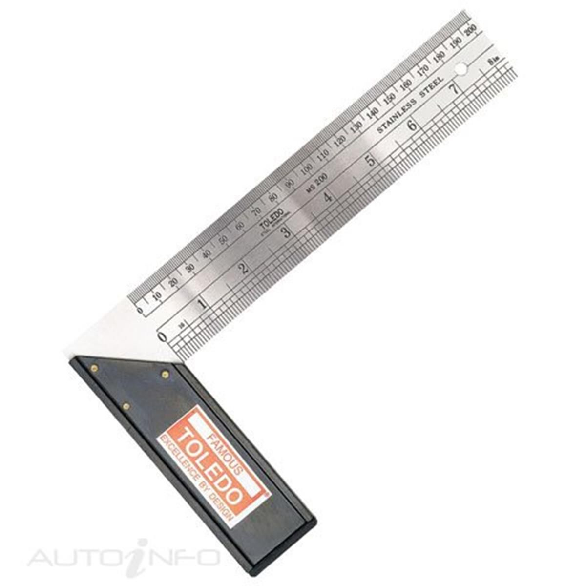 TOLEDO Flat File Smooth 250mm 10FL03CD