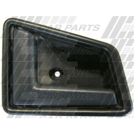 DOOR HANDLE - INNER - L/H - BLACK, , scanz_hi-res