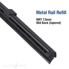 METAL RAIL REFILL TAPERED 28 INCH, , scanz_hi-res