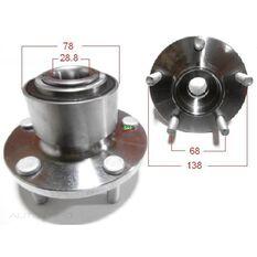 Mazda 3 04- Front Hub ABS, , scanz_hi-res