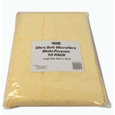 BTECH GOLD MICROFIBER CLOTH - 10 PACK