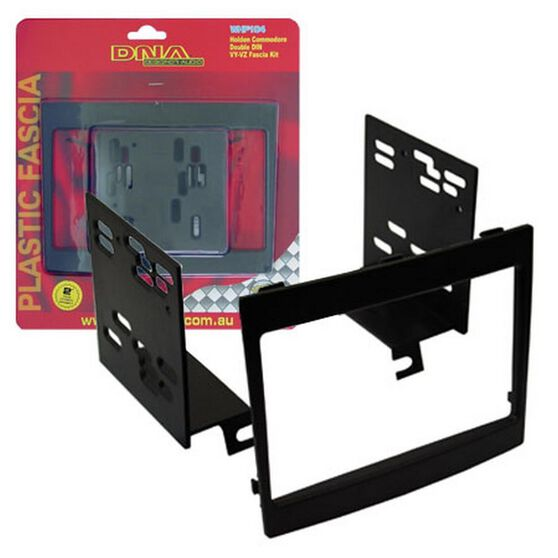 FITTING KIT HOLDEN COMMODORE VY - VZ DOUBLE DIN BLACK, , scanz_hi-res