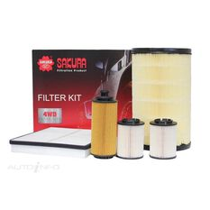 FILTER KIT OIL AIR FUEL CABIN, , scanz_hi-res
