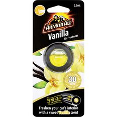 Armor All Vent Air Freshener Vanilla 2.5mL, , scanz_hi-res