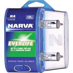 Narva Everlife Long Life Headlight Globe H4 12V 60/55W, , scanz_hi-res