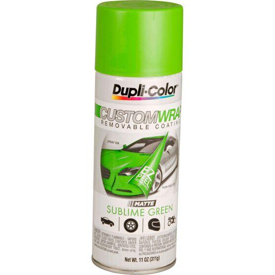 Dupli-Color Aerosol Paint Custom Wrap - Matte Sublime Green, 311g, , scanz_hi-res