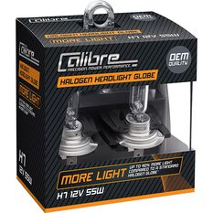 Calibre Headlight Globes, Plus 90 - H7, 12V, 55W, , scanz_hi-res