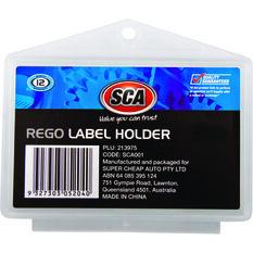 Rego Label Holder - Plastic, Universal, , scanz_hi-res