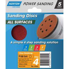 Norton Disc Sander - 180 Grit, 125mm, , scanz_hi-res
