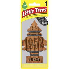 Little Trees Air Freshener - Bourbon, 1 Pack, , scanz_hi-res