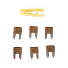 SCA Fuse Mini Blade - 7.5 AMP, 6pce, , scanz_hi-res