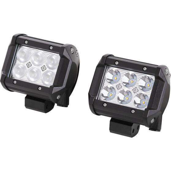 SCA Driving Light Kit - LED, 18W, 2 Pack, , scanz_hi-res
