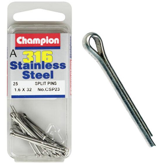 Champion Split Pins - 3.2mm X 50mm 3.2mm, , scanz_hi-res