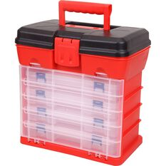 Plastic Organiser - 19 Compartment x 4pk tower, , scanz_hi-res