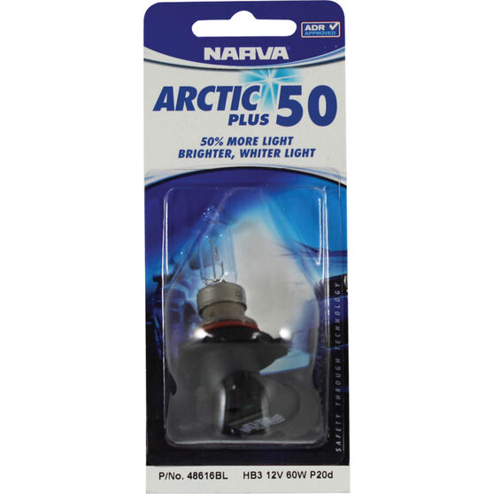 Narva Headlight Globe - Arctic Plus 50, HB3, 12V, 60W, , scanz_hi-res