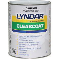 Lyndar Clearcoat - 1 Litre, , scanz_hi-res