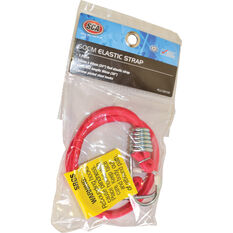 SCA Metal Hook Bungee Cord - 60cm, Red, , scanz_hi-res