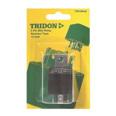 Tridon Mini Relay - 40 AMP, 5 Pin, , scanz_hi-res