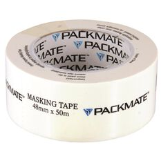 Packmate Masking Tape - 48mm x 50m, , scanz_hi-res
