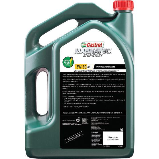 Castrol MAGNATEC Stop-Start Engine Oil 5W-30 A5 6 Litre, , scanz_hi-res