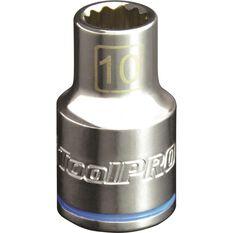 ToolPro Single Socket - 1 / 2 inch Drive, 10mm, , scanz_hi-res