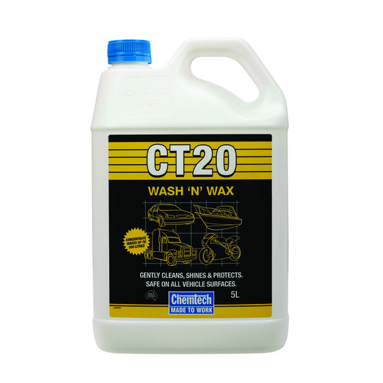 Chemtech CT20 Wash & Wax - 5 Litre, , scanz_hi-res