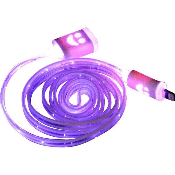 SCA LED Light-up Lightning To USB Cable, , scanz_hi-res