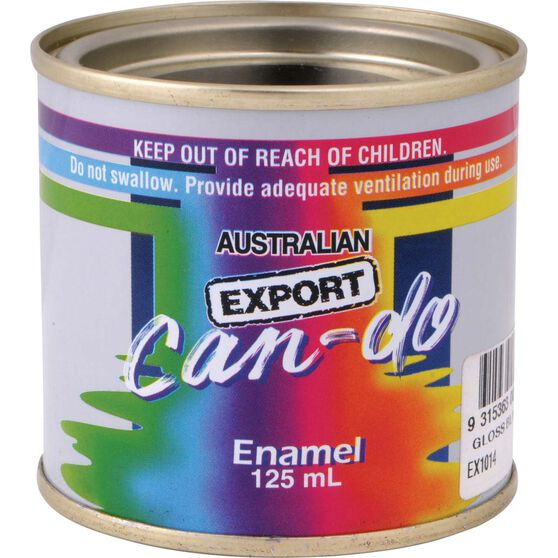 Export Can Do Paint - Enamel, Gloss Red, 125mL, , scanz_hi-res