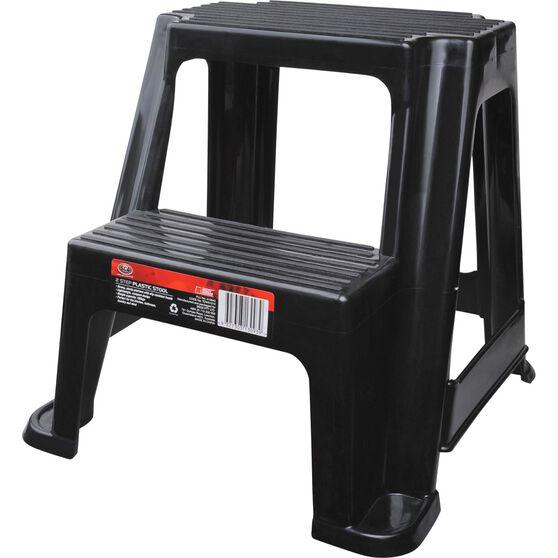 Step Stool - 2 step, plastic 100kg, , scanz_hi-res